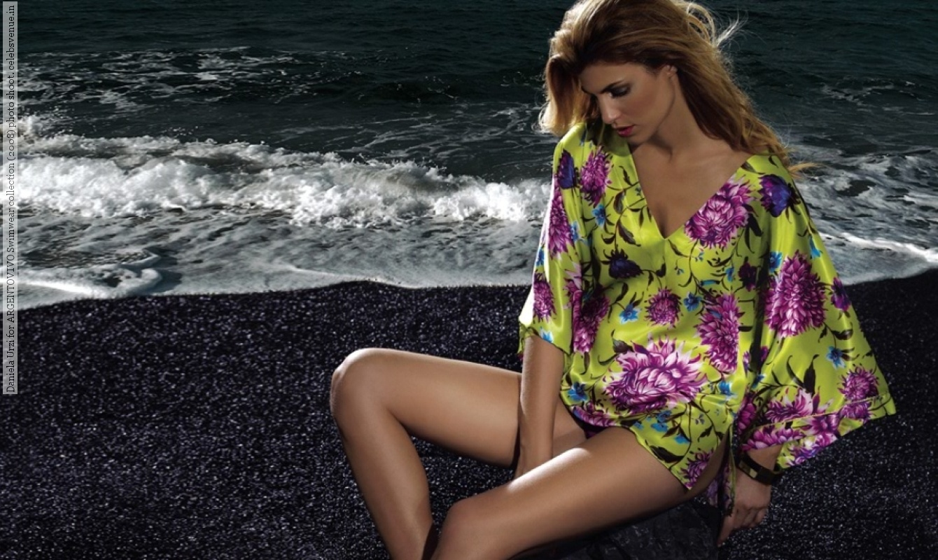 Argentinian Model Daniela Urzi Caught Topless On The Beach