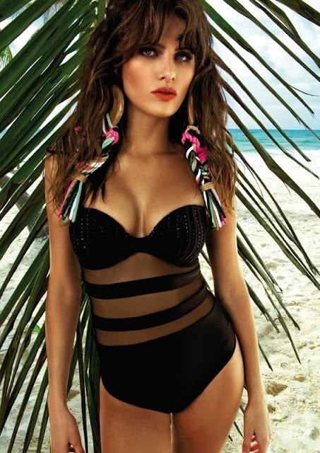 Morena Rosa Swimwear Spring/Summer 2013 featuring Isabeli Fontana (6/6)